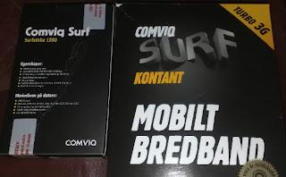 comviq mobilt bredband problem