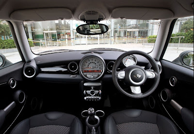 2009 Mini Cooper Graphite Interior