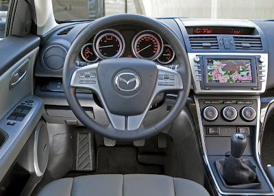 2008 Mazda 6 Sedan Interior