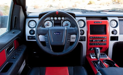 2010 Ford F-150 SVT Raptor Interior