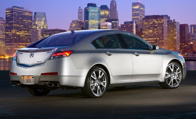 Luxury 2010 Acura TL SH-AWD Wallpapers