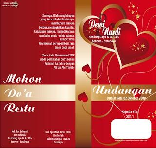 desain bingkai kartu ucapan berita teraktual desain template undangan ...
