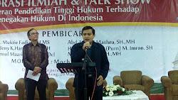 Orasi Ilmiah Prof. Abdul Muktie Fadjar & Sambutan Ketua Umum APHAMK, Dr. Widodo E.,S.H.,M.Hum
