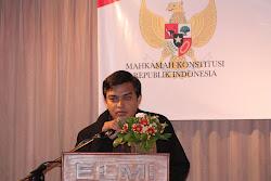 Seminar dan Pertemuan Koordinasi antara APHAMK Provinsi Jawa Timur dengan Mahkamah Konstitusi RI