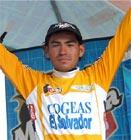 Historico avalos lider de la Vuelta a Guatemala