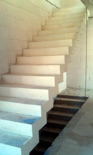 Equipo aparejador arquitectos t cnicos zancas escalera for Construir escalera de hormigon