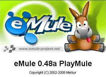 eMule 0.48a PlayMule Build 080624