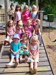 Griffin and the girls in her class