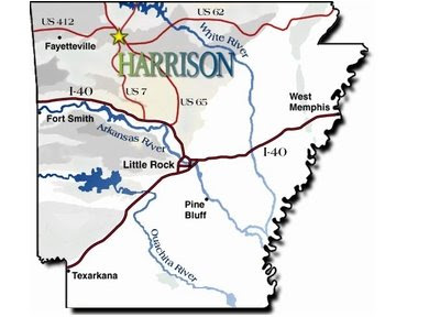 Boone County Arkansas Map.Born And Raised In The South Harrison Ar