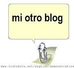 mi blog y yo/yo y mi blog