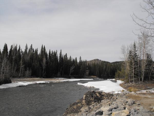 A river!
