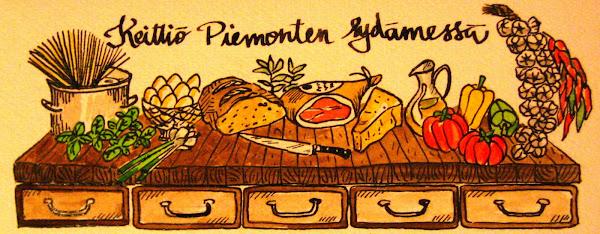 Keittiö Piemonten sydämessä