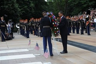 Obama Skipping Memorial Day Ceremony