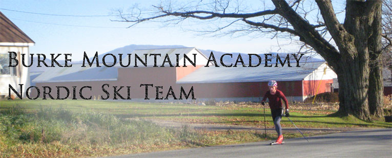 Burke Mountain Academy Nordic Ski Team