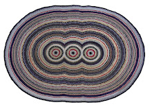 Braided Rug with circles