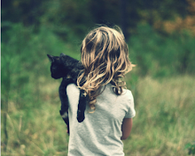Girl Holding cat