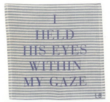 I held his eyes within my gaze
