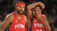 Rasheed Wallace and Richard Hamilton