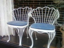 Fancy Wire Chairs