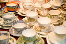 Flea Market Teacups