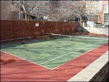 Hunter Dorm Tennis Court