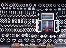 Painted Houses in Slovak Republic