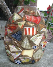 Pot made of shards