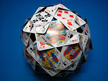 Ball made of cards