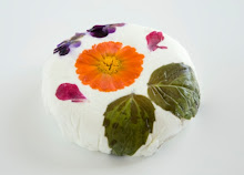 Flowered cheese