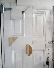 Patched door