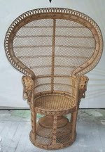 Big peacock chair