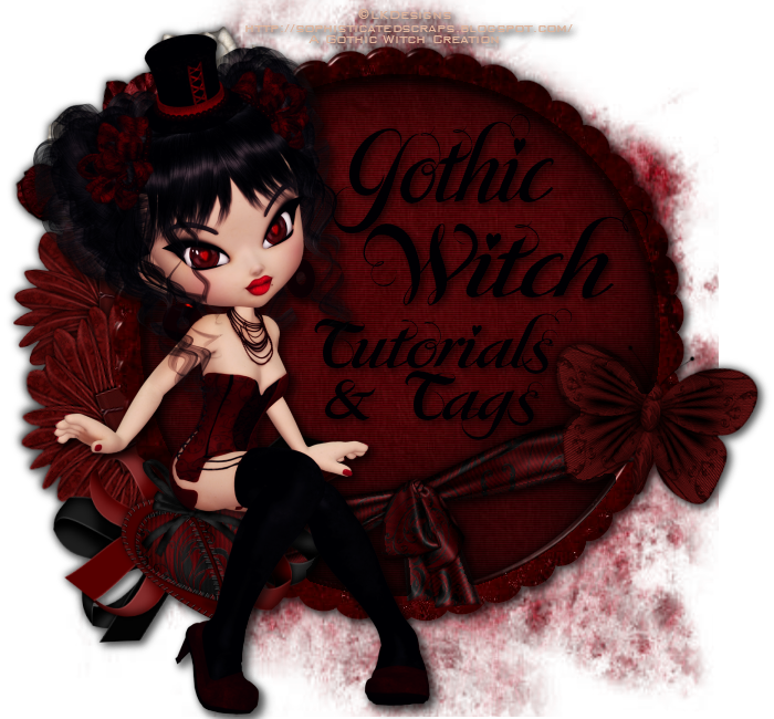 ~*~Gothic Witch Tags~*~