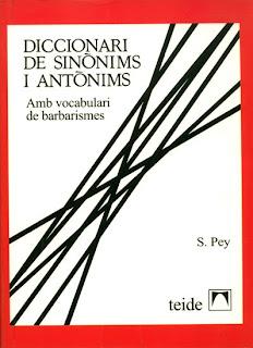 Diccionari de sinònims