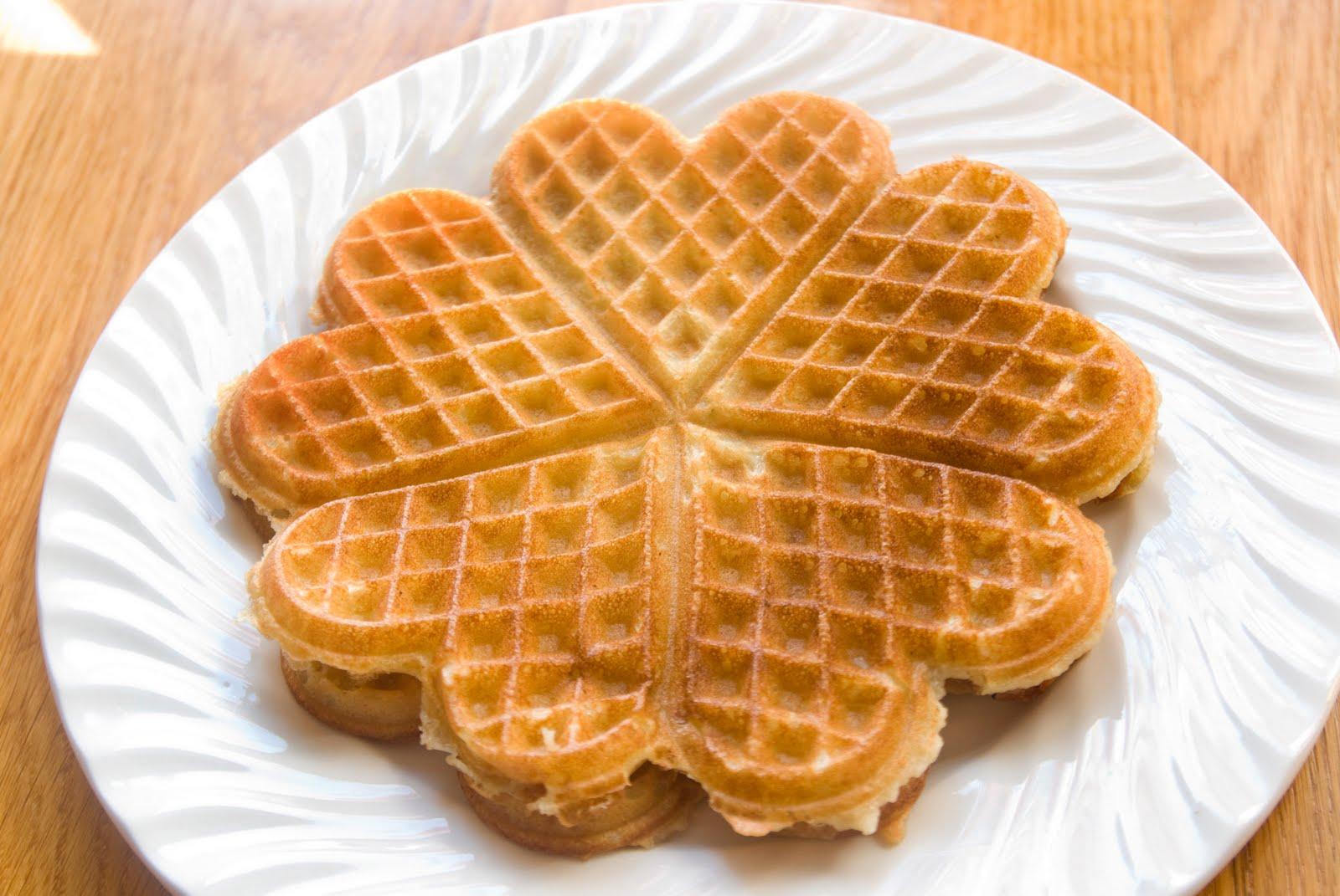 Вафли сердечки в вафельнице рецепт с пошагово