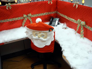 Christmas Cubicle Decorating Contest