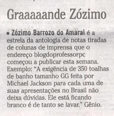 """Deu no """"Gente Boa"""", do Joaquim Ferreira dos Santos"""