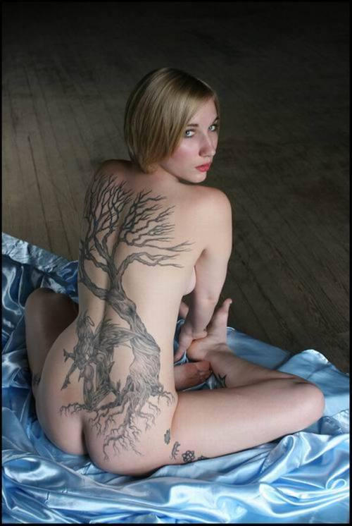 sexy tattoo pictures. cherry tree tattoo meaning.