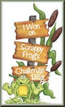 I won scrappy frogs