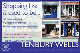 Tenbury Chamber of Trade Advert
