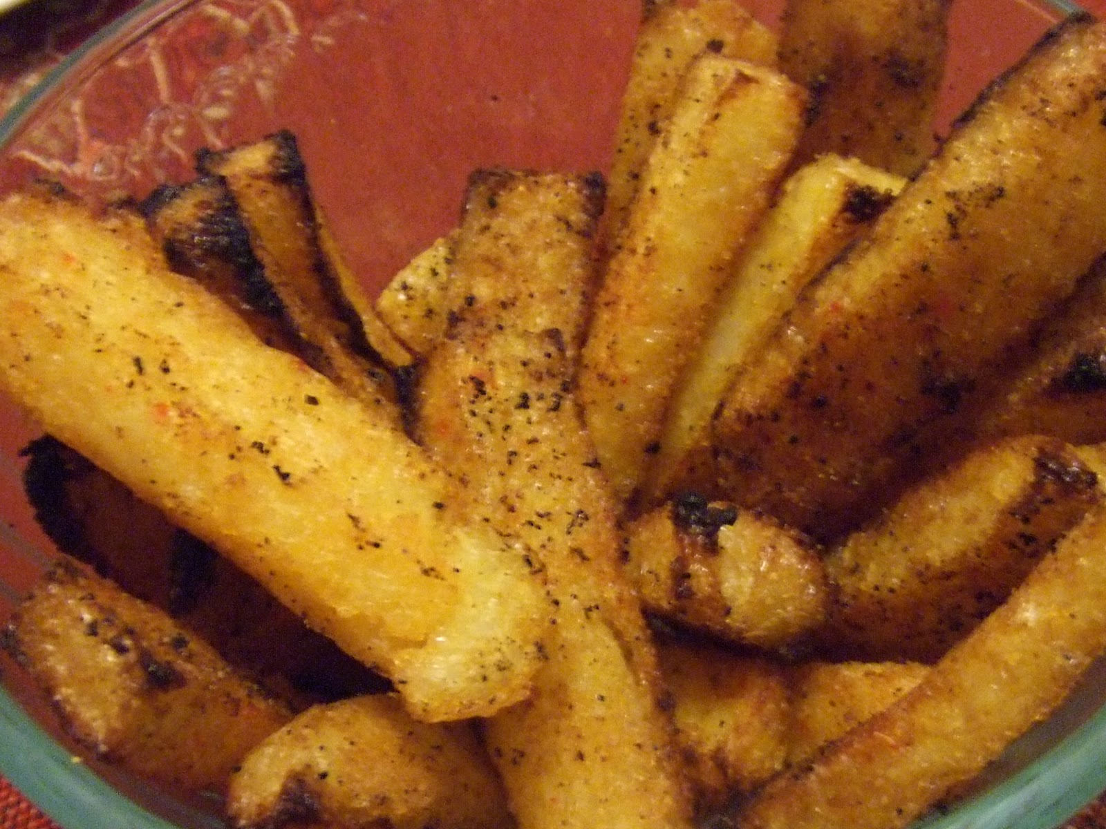 Extreme Vegan Makeover: Baked Polenta Fries and Ranch Dip Edition ...