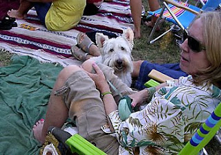 Abbott Scottie dog and Deb