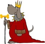 his royal highness and the gold milkbone