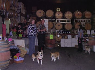 me, Tilin Corgi, with Jack, at Mutt Lynch