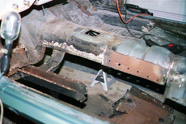 James 66 Mustang Convertible Restoration Drivers Side