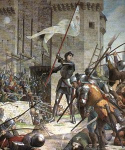the trial of joan of arc after the hundred years war Joan's own testimony given at her trial and sentencing to death was  since the  beginning of the hundred years war, the.