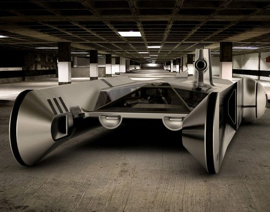 Awesome: Jet-powered truck concept by Andrew Chirkova