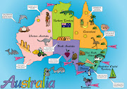 This is my map of Australia aimed at children aged 36. (austmapposterdone)