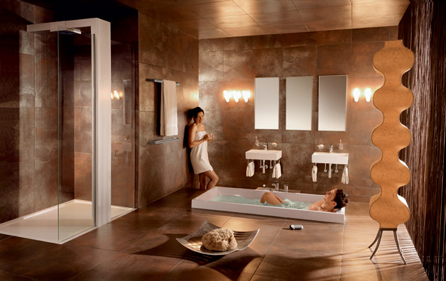 Interior design tips elegant bathroom interior design for Exquisite interior designs