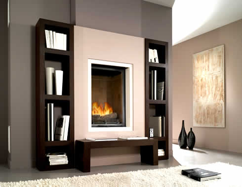 Home interior design luxury fireplace design ideas for Interior fireplace designs
