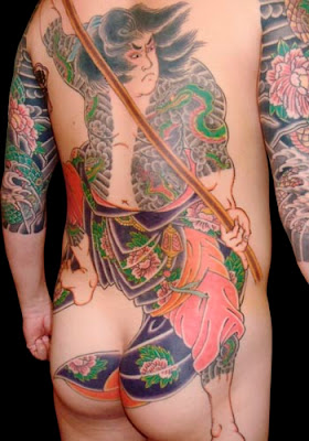 Japanese Yakuza Tattoo Design
